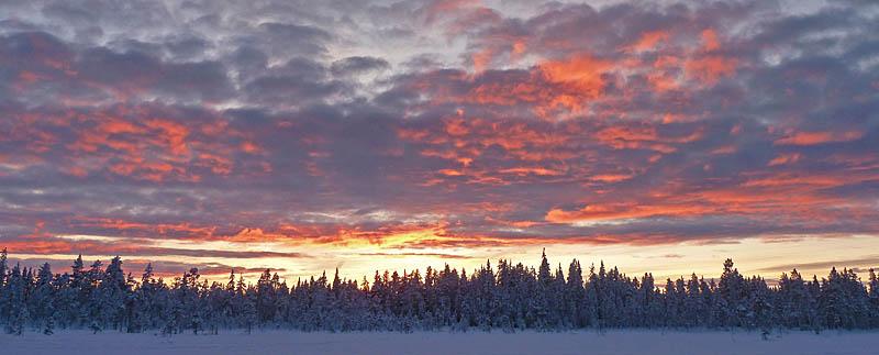Solnedgång_lappland