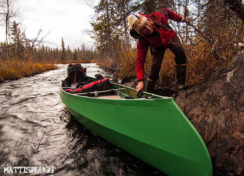 Begagnad kanot säljes