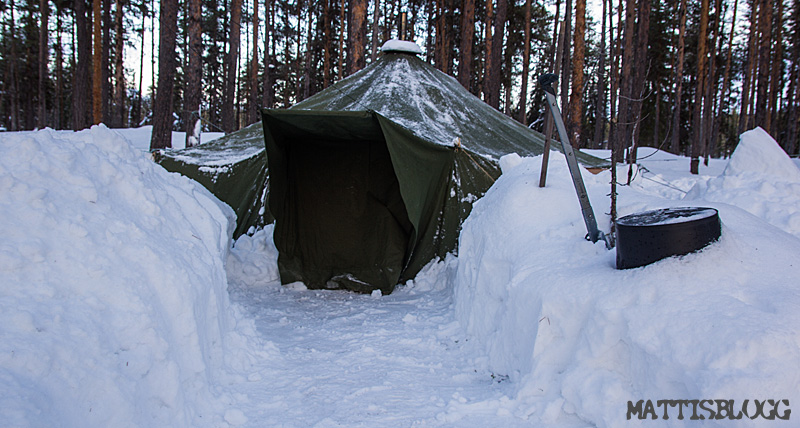 Tältcamp i Lappland_2